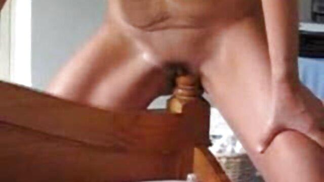 Blonder private sex filme Dildofahrer